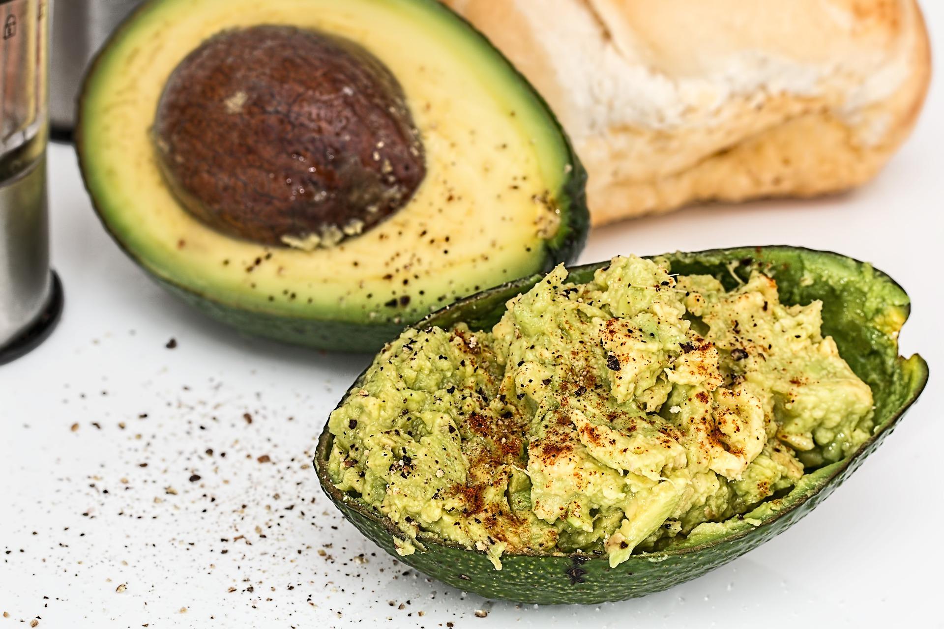 low GI snacks - avocado