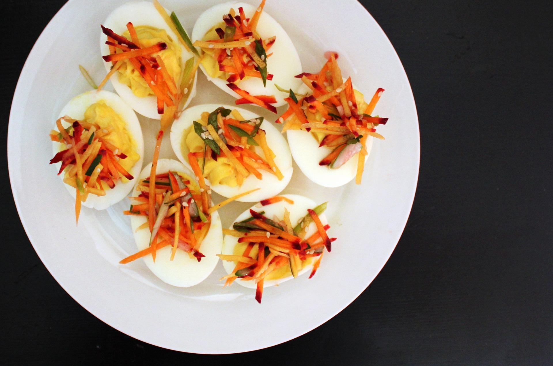 low GI snacks - eggs